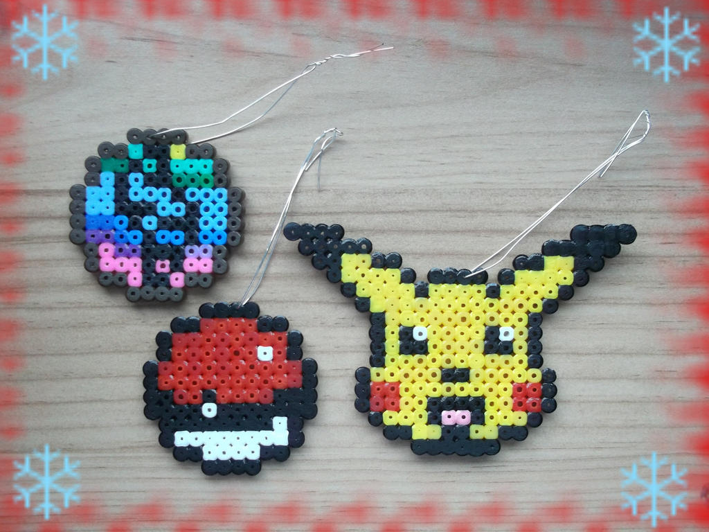 Christmas Ornaments- Pokemon by Dogtorwho