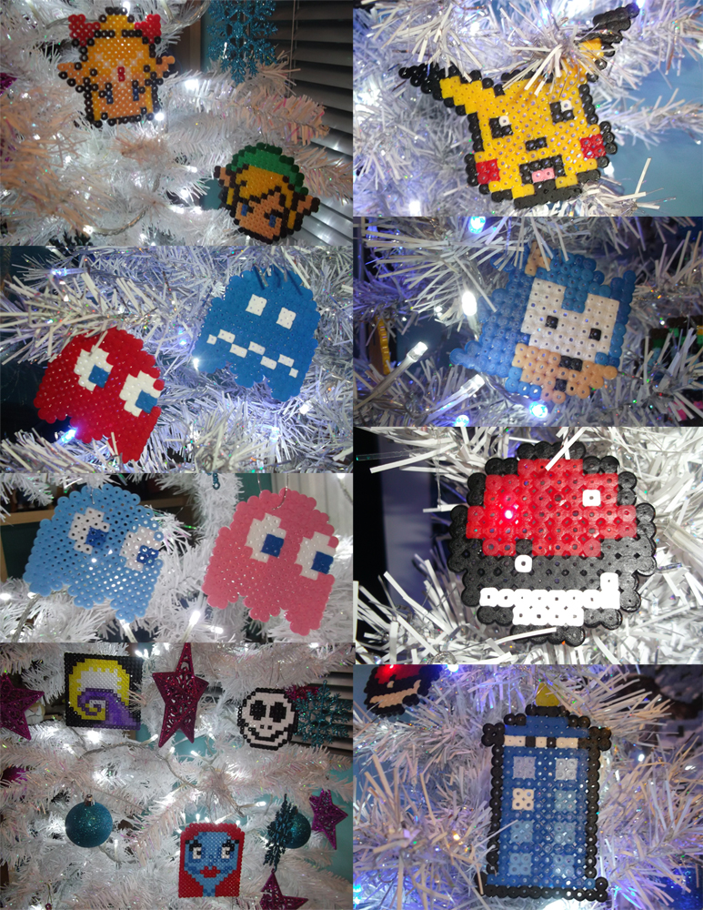 Geek Christmas Ornaments (FOR SALE!) by Dogtorwho