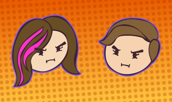 Me and My Sister- Game Grumps style by Dogtorwho