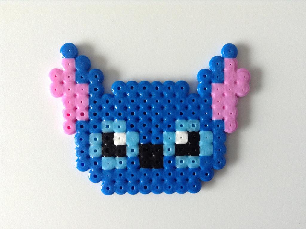 stitch hama bead sprite by dogtorwho on deviantart