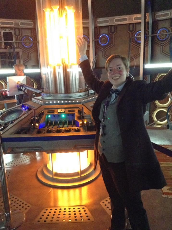 Dogtor on the TARDIS! by Dogtorwho