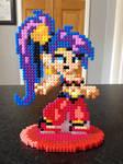 Custom Hama Stand: Shantae