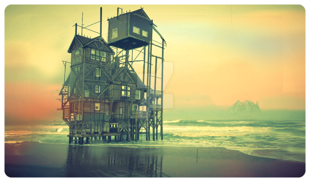 the last house  on the forgotten beach by theotormonfr18
