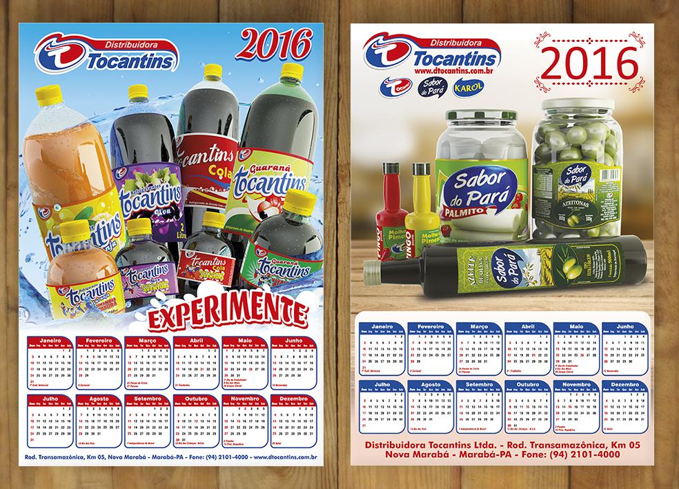 amostra calendario Tocantins 2016 by DarioTortola
