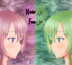 Logo Noob's Art Faceline  by kamal-SS