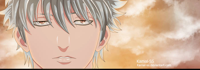 Gintama Gintoki  by kamal-SS