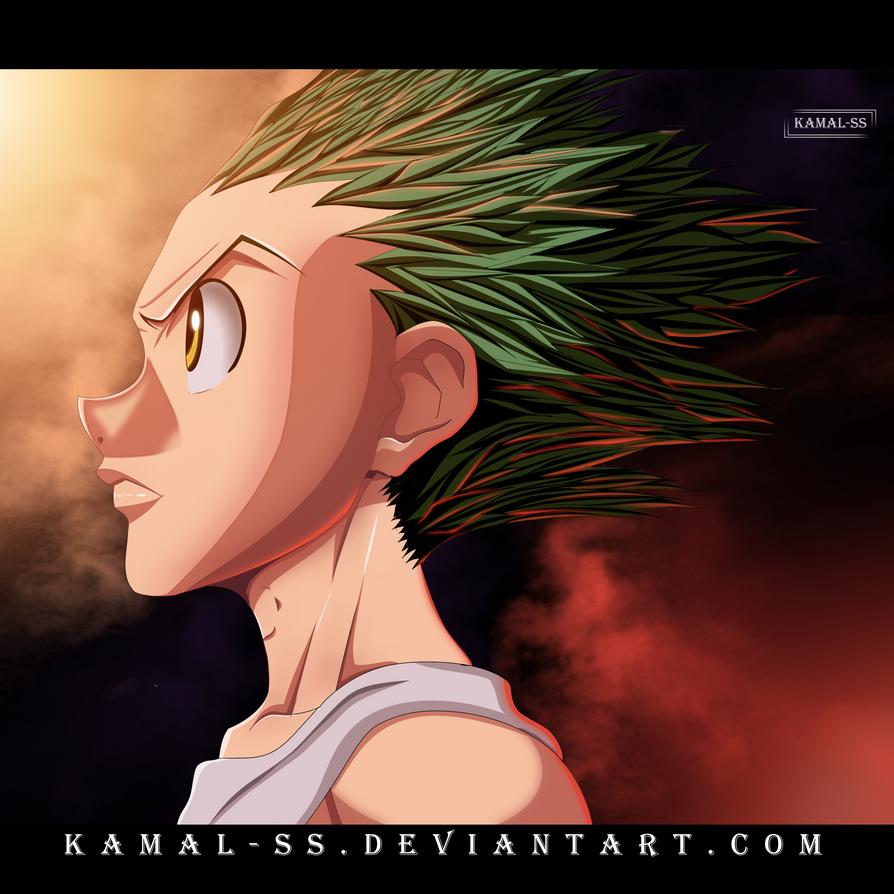 Hunter X Hunter - Gon freecss  by kamal-SS