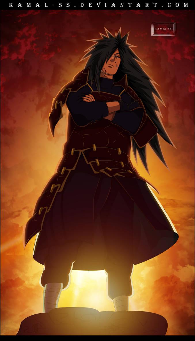 Naruto - Madara Uchiha by kamal-SS