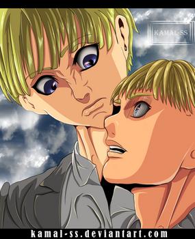 Shingeki no kyojin chapter 118 - Aemin and yellena