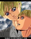Shingeki no kyojin chapter 118 - Aemin and yellena by kamal-SS