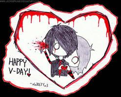 A Bloody Valentines Day by LeCreepyOne
