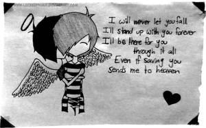 Your Guardian Angel by LeCreepyOne