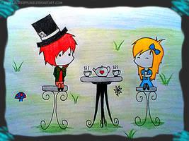 The Tea Party by LeCreepyOne