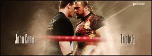 Firma John Cena vs HHH