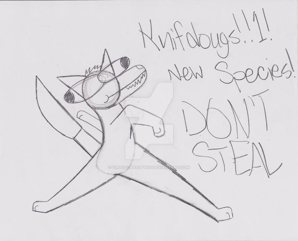 NEW SPECIES !!!!!  !! ! 1 1 1 1111 by Chocolatespyro