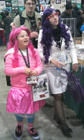 Rarity and Pinky Pie