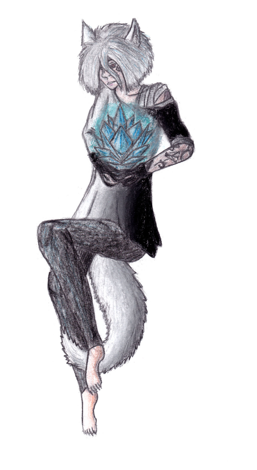Ice Crystal by A-Zetka