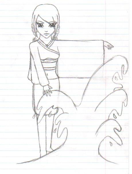 Amira character sketch by fireballflame