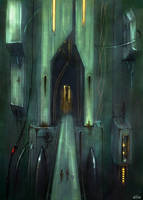 Citadel Entrance by A-Shift