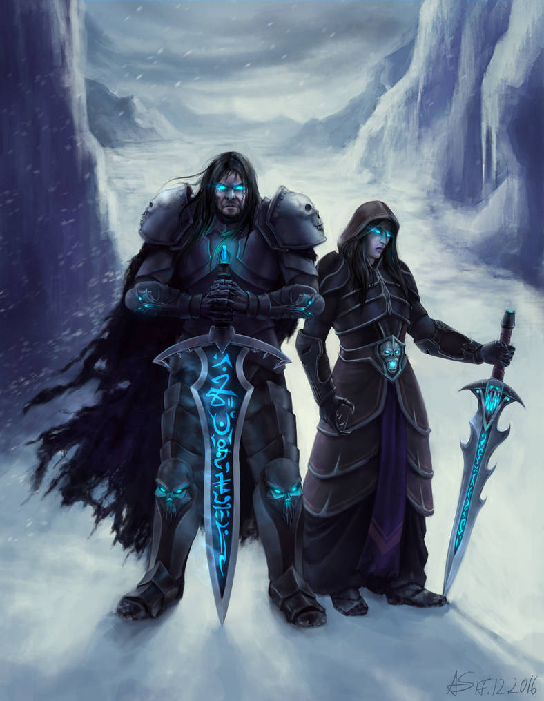 Request: Death Knights by A-Shift
