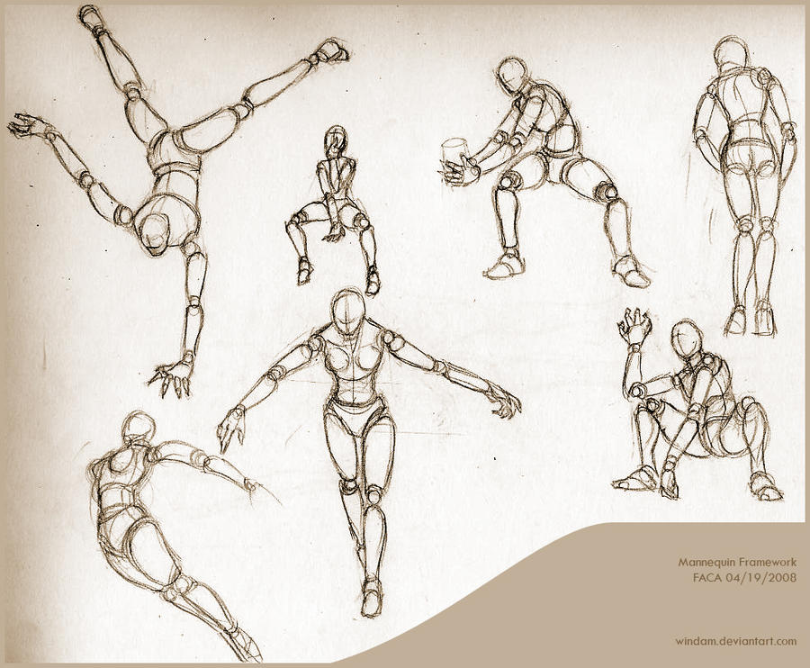 Mannequin Framework Practice By Windam On DeviantArt