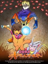 Dora the Explorer movie poster by Windam