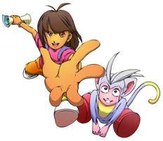 Dora + Boots by Windam
