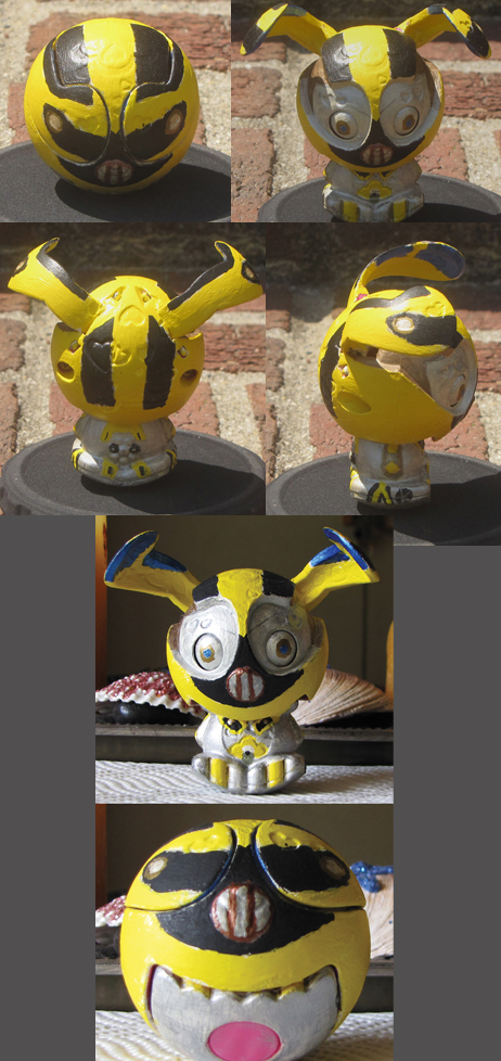 Zooblebee - Transformers by technodrumguy