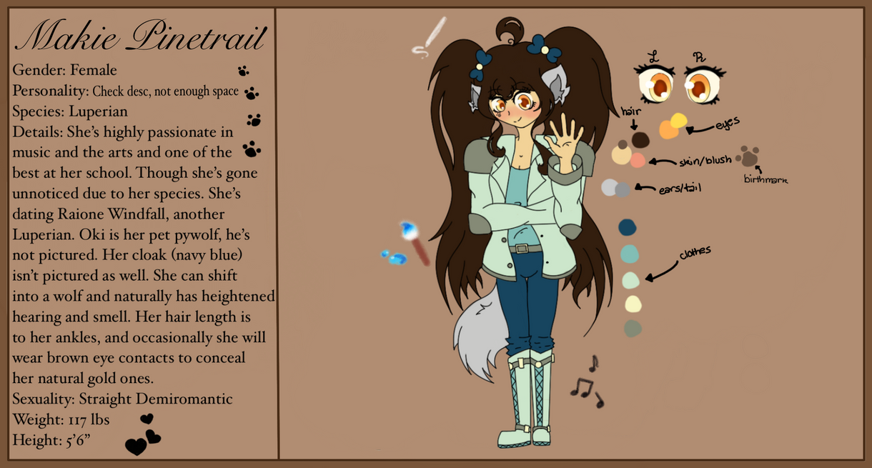 ANOTHER Makie Ref by wolflover4lyfe