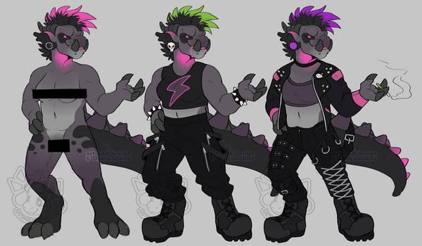 a punk rock kinda gal