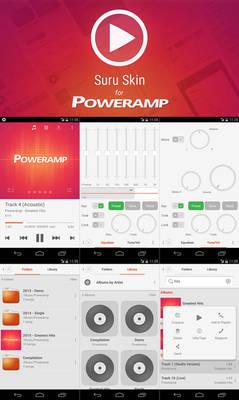 Poweramp Suru Skin