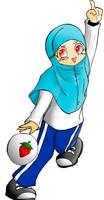 Yuna Tajima-The High-Spirited Moslemah =D