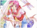 Yuina-- Aka Tombo (Red Dragonflies)