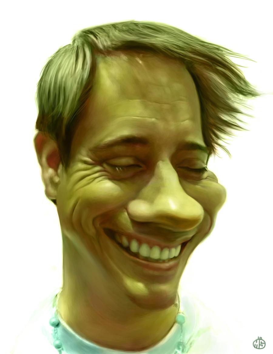 Glenn Ferguson caricature by Jubhubmubfub