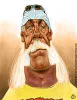 Hulk Hogan Caricature by Jubhubmubfub