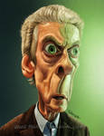 Peter Capaldi - Doctor Who Caricature