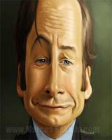Saul Goodman Caricature by Jubhubmubfub