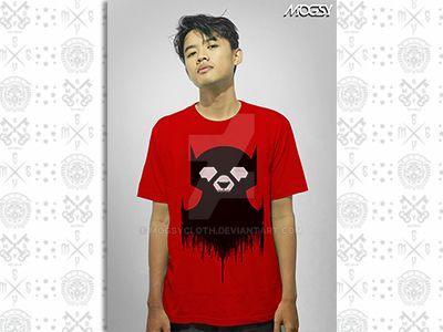 Batbear Fusion Mogsy T-shirt by mogsycloth