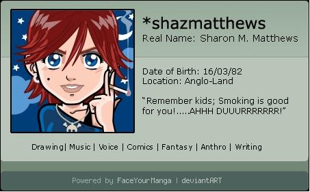 shazmatthews's Profile Picture