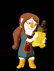 Medli for Zelda Collab by shazmatthews
