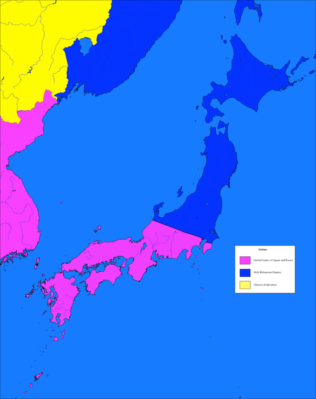 Code Geass Warfare Japan Map By Animeheckyeah On DeviantArt - World map us and japan