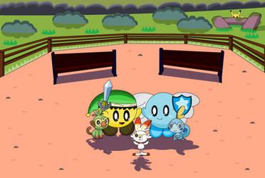 Pokemon Sword and Shield by StarWarriorJian