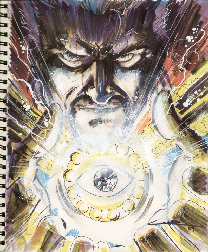Sketch 03 : Doctor Strange by Cinar