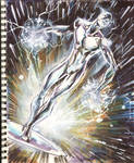 Sketch 04 : Silver Surfer