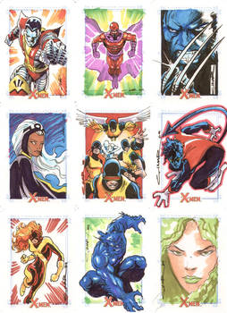 X-Men Archives 01 by Cinar