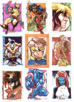 X-Men Archives 02 by Cinar