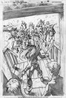 RAVAGER p.5 page 6 pencils by Cinar