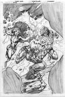 Legion Issue 4 cover pencils by Cinar