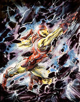 Sketch 48: Iron Man by Cinar