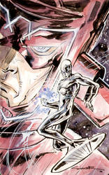 Silver Surfer 03 by Cinar